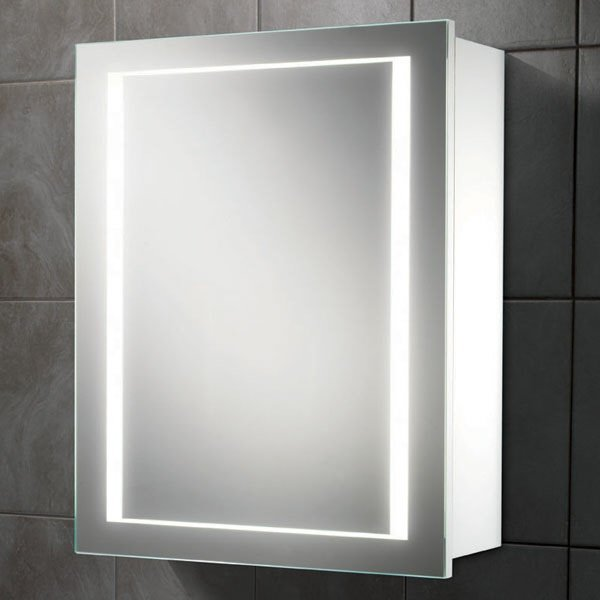Austin cabinet hib for Bathroom cabinet mirror with lights