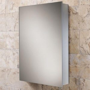 slimline mirrored bathroom cabinet