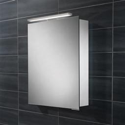 minimalist mirrored bathroom cabinet