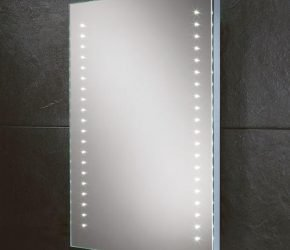 Lucca LED dot illuminated mirror