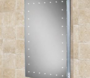 Astral LED dot illuminated mirror