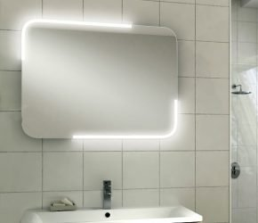 Orb 60 LED illuminated mirror
