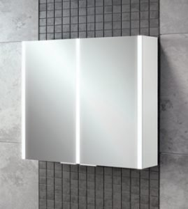 Xenon 80 Bathroom Cabinet on tile