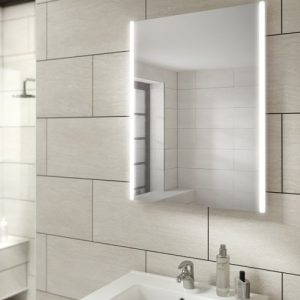Zircon 50 Mirror in bathroom