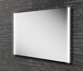 Zircon 80 Mirror on bathroom tile