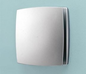 Breeze Matt Silver - Timer & Humidity Sensor
