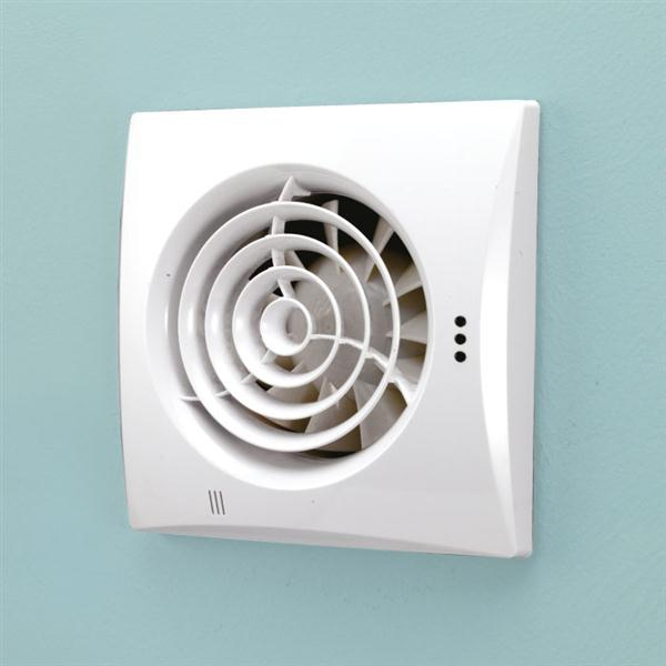 Hush Selv Fan White Ventilation Hib