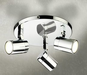Bathroom lighting hib trilogy spot light mozeypictures Gallery