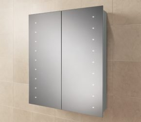 Nimbus 60 Bathroom Cabinet on tile
