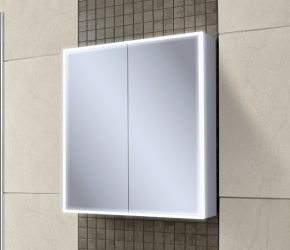 Qubic 60 LED illuminated cabinet