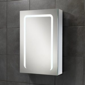 Stratus 50 Cabinet on bathroom tile
