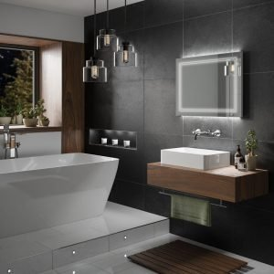 Outline 80 LED Bathroom Mirror