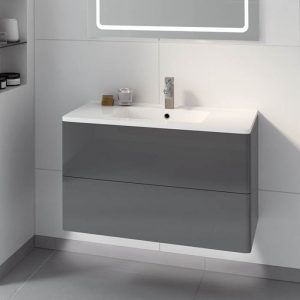 large washbasin unit