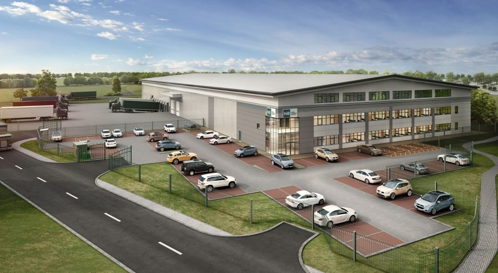 New National Distribution Centre for HiB