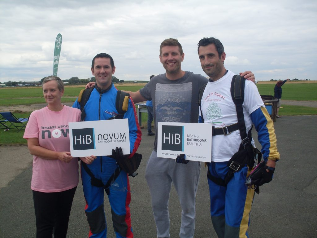 HiB takes to the skies for Charity
