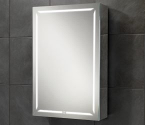 Groove 50 LED illuminated mirror