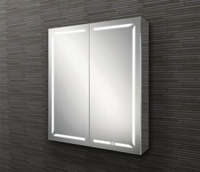 Groove 60 LED illuminated mirror