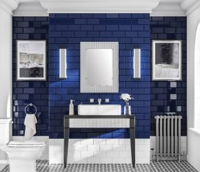 Deco 60 bathroom mirror