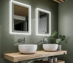 Element 50 LED illuminated mirror