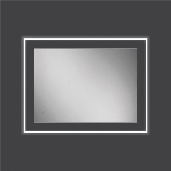 Bathroom mirrors hib element 60 illuminated mirrors gumiabroncs Image collections