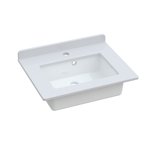 Kingsbury – Washbasin 50cm with Quartz worktop and upstand