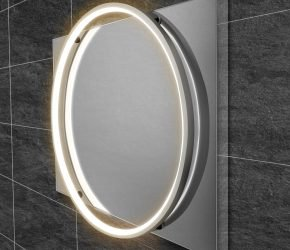 Solas 60 - Chrome LED Mirror