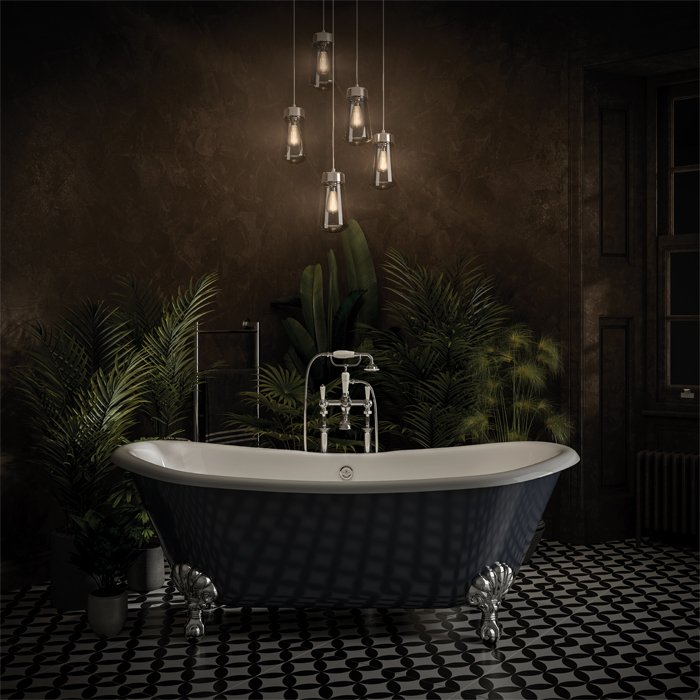 Romantic Bathroom Lighting Ideas: Set The Mood – Match The Lighting To The Look