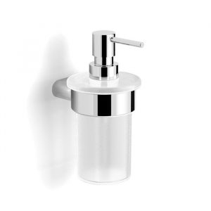 chrome wall soap dispenser