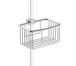 Image of Shower basket traditional - Clip on riser rail