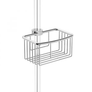 riser rail shower basket