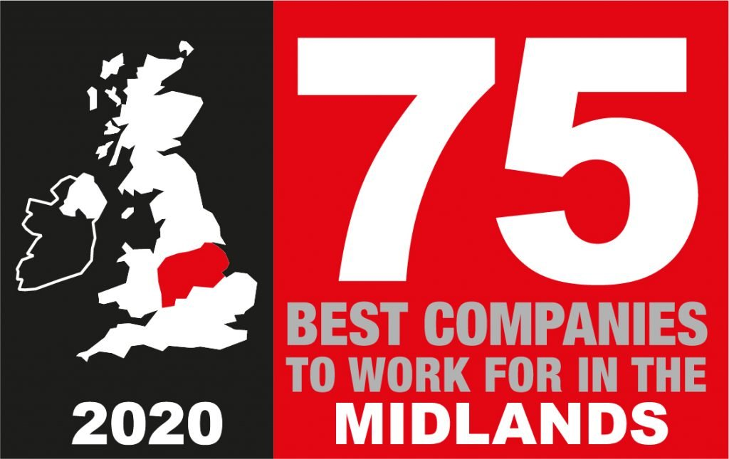 HiB Named As One Of The Best Companies To Work For In The Midlands